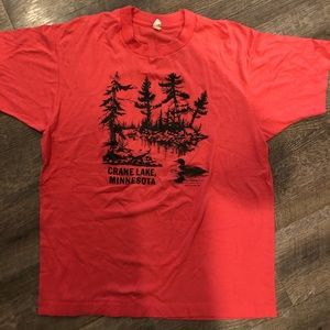 Vintage • 1988 • Crane Lake Minnesota Soft T-shirt